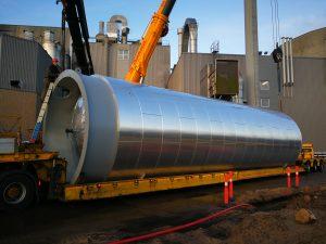 200 m³ tank fra CGH Nordic